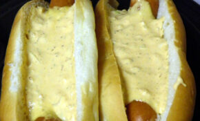 Cheddar Dogs Topped With Dog Breath Sauce (Explore) – Recipes Homemade Dog Food