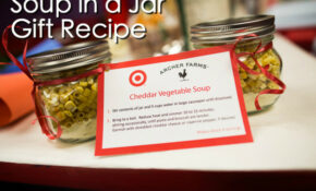 Cheddar Vegetable Soup In A Jar Recipe | Fantastic Gift ..