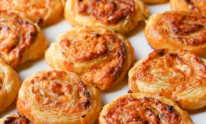 Cheese And Sundried Tomato Pinwheels – Quick And Easy Party Finger Food Recipes