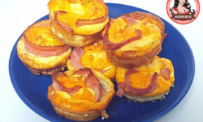 Cheesy Bacon And Egg Cups – Food Recipes Bacon