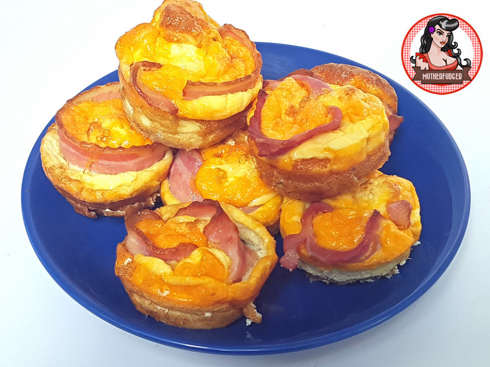 Cheesy Bacon and Egg Cups - food recipes bacon