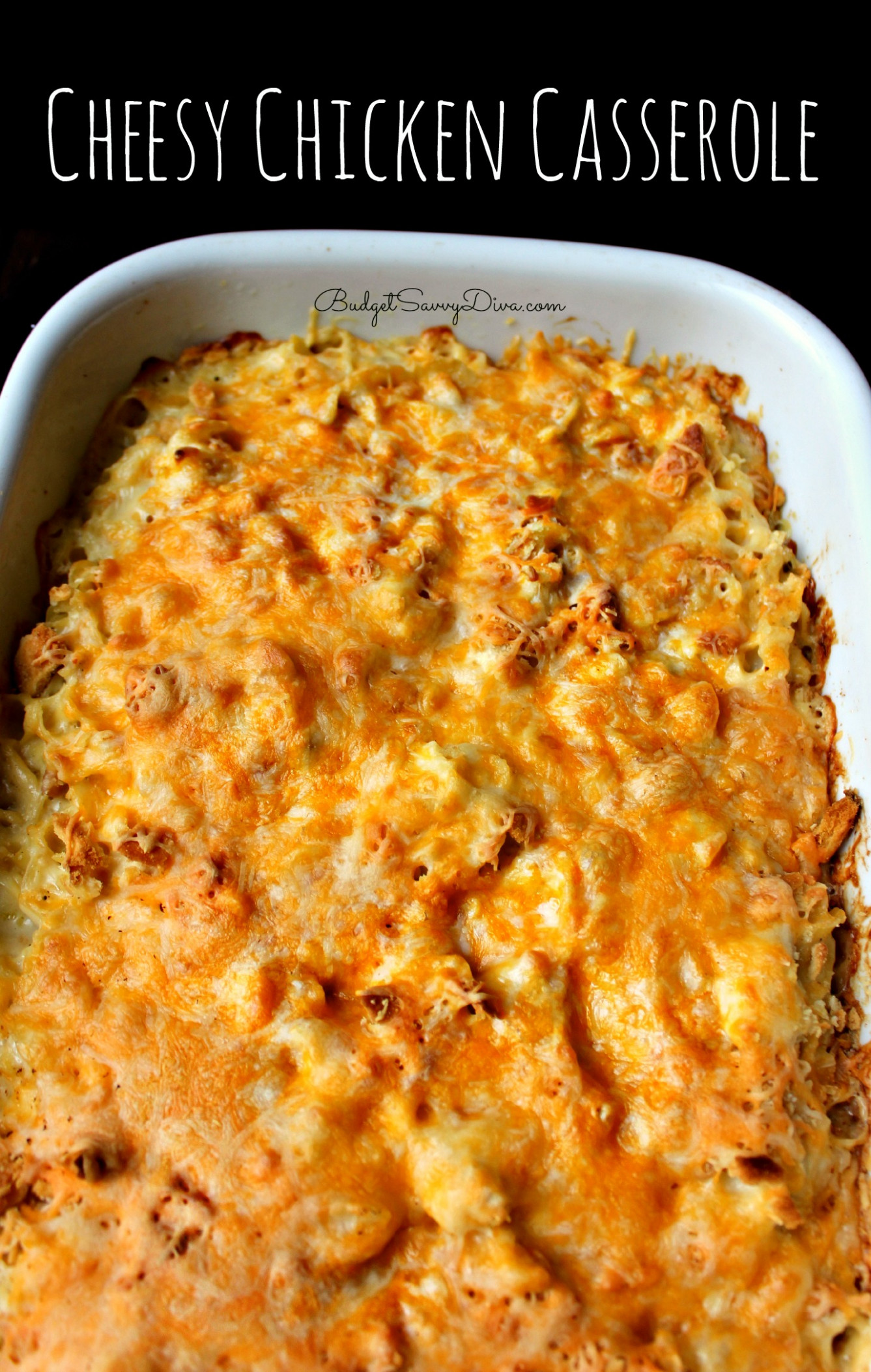 Cheesy Chicken Casserole Recipe - recipes easy chicken casserole