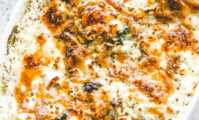 Cheesy Chicken Spinach Bake | Easy Baked Chicken Breasts ..