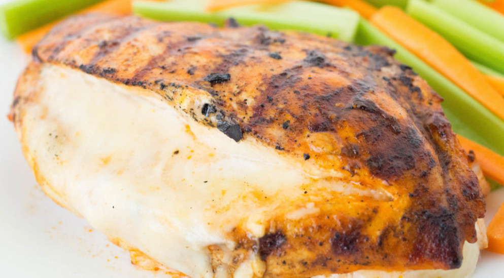 Cheesy Grilled Buffalo Chicken Recipe - Cooking With Janica - recipes using chicken breast