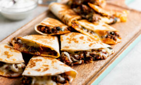 Cheesy Ground Beef Quesadillas Recipe — The Mom 15 – Dinner Recipes With Ground Beef