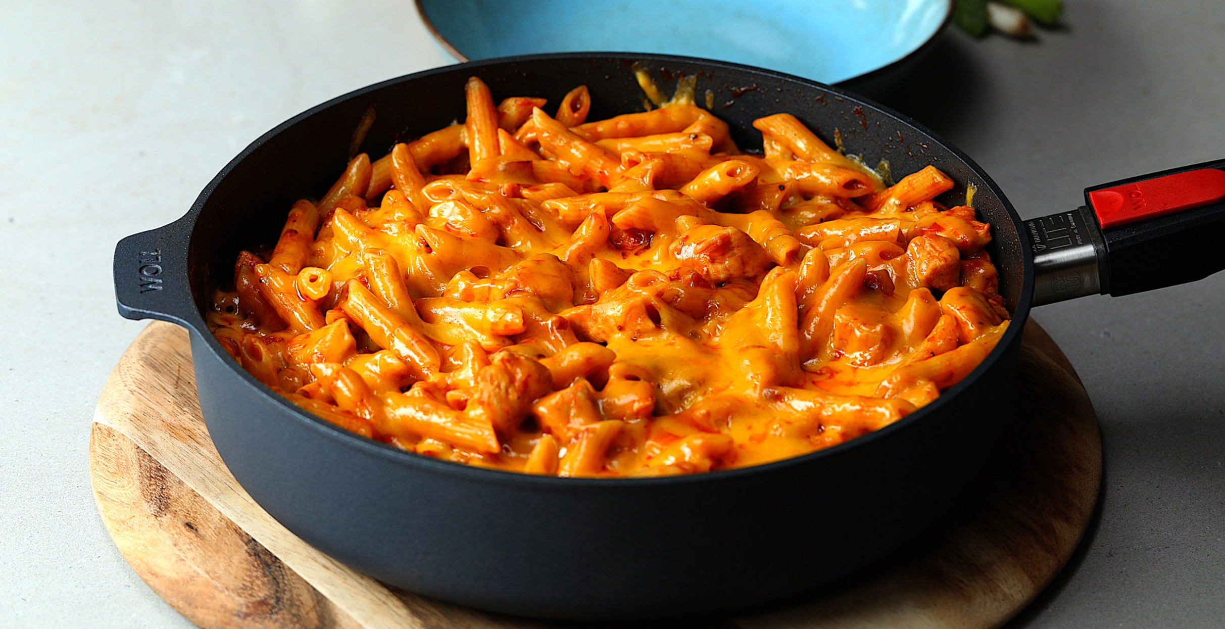 Cheesy Hunters Chicken Pasta - recipes hunters chicken