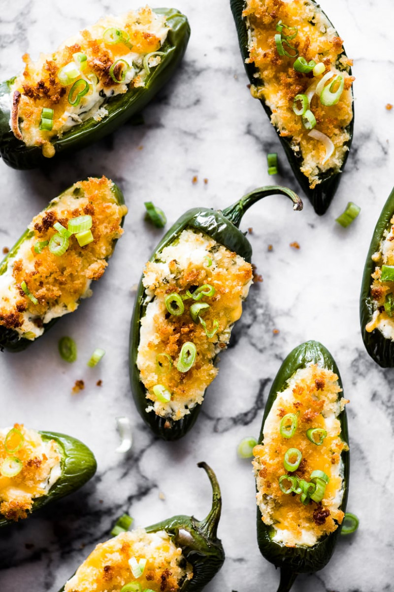 Cheesy Jalapeno Poppers - dinner recipes with jalapenos