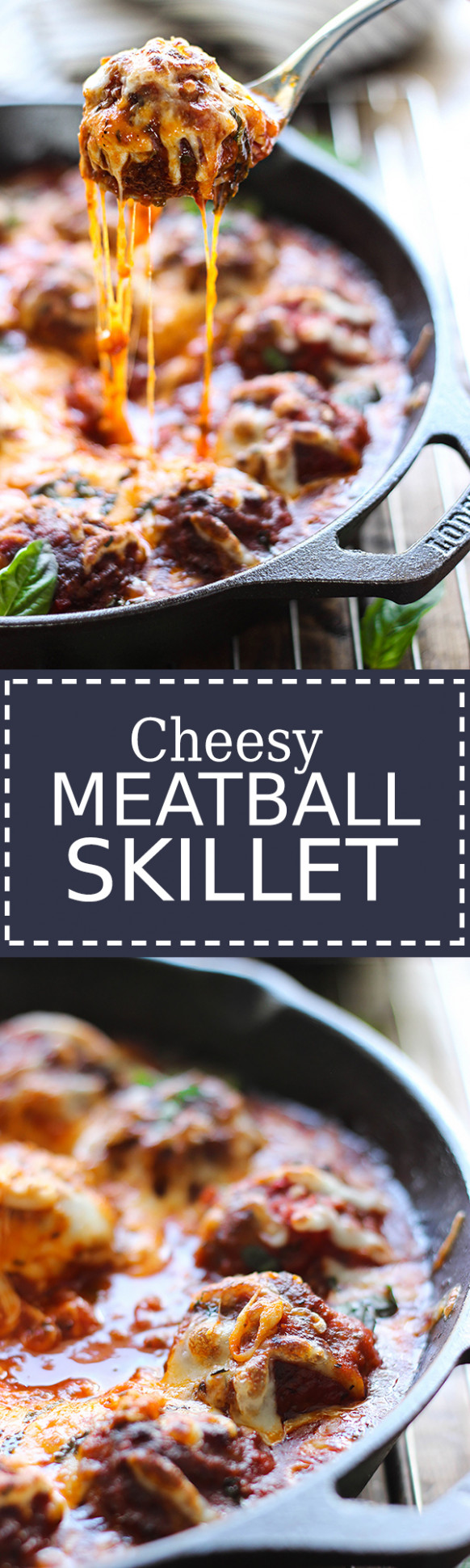 Cheesy Meatball Skillet - The Cooking Jar - Dinner Recipes Coles