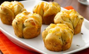 Cheesy Rosemary Monkey Bread Rolls Recipe – Pillsbury