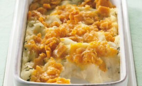 Cheesy Topped Mashed Potato Casserole Recipe – Recipes Easter Dinner