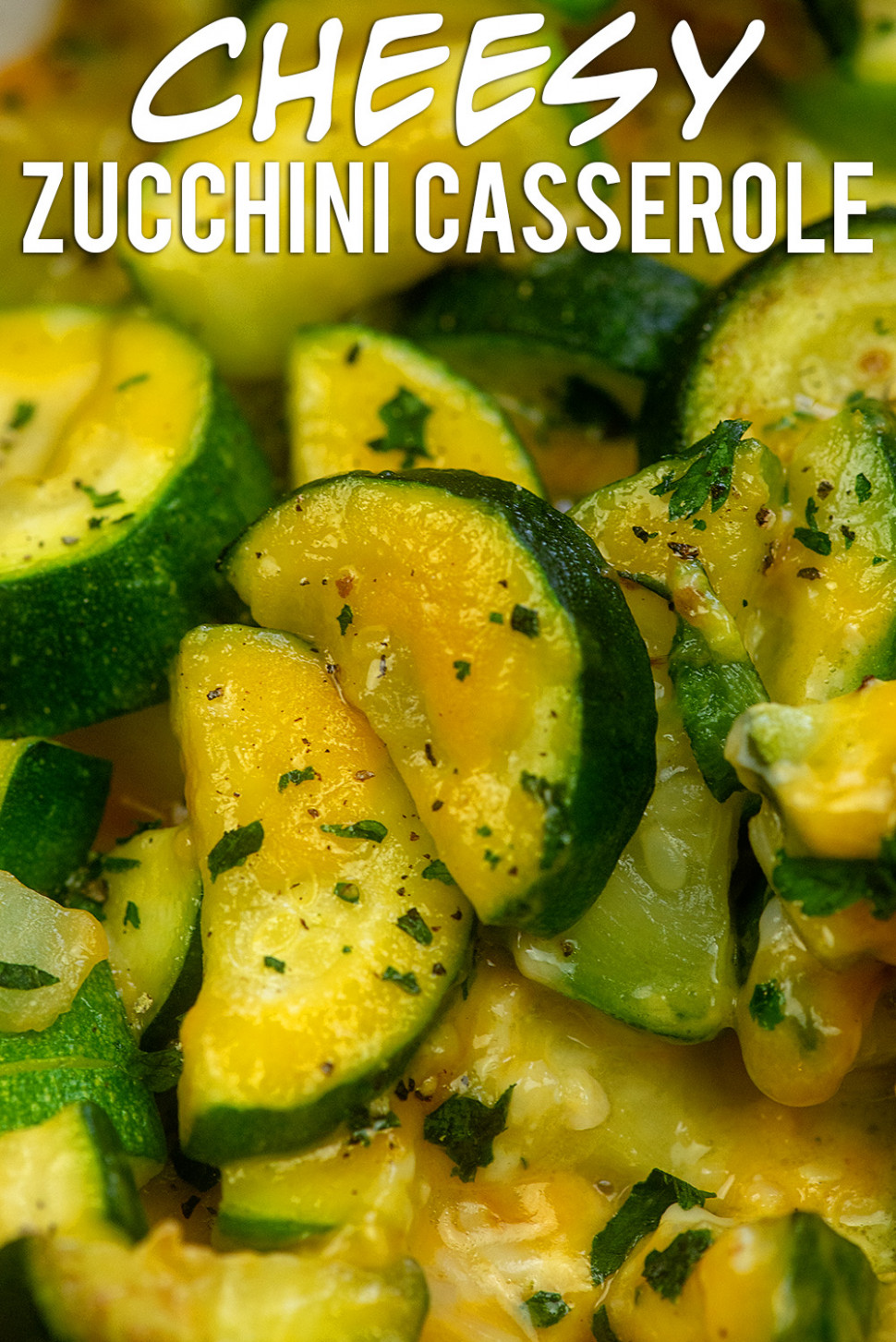 Cheesy Zucchini Casserole from ThatLowCarbLife
