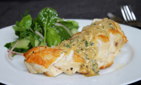 ChelseaWinter.co.nz Roasted Chicken Breast With Creamy ..