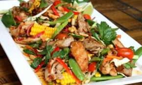 ChelseaWinter.co.nz Thai chicken salad - ChelseaWinter.co.nz