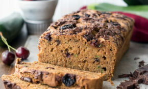Cherry Chocolate Zucchini Bread – Recipes Whole Food Plant Based