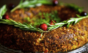 Chestnut And Cashew Vegan Christmas Roast From Thinly Spread – Chestnut Recipes Vegetarian