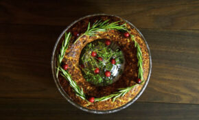 Chestnut And Cashew Vegan Christmas Roast From Thinly Spread – Christmas Recipes Dinner