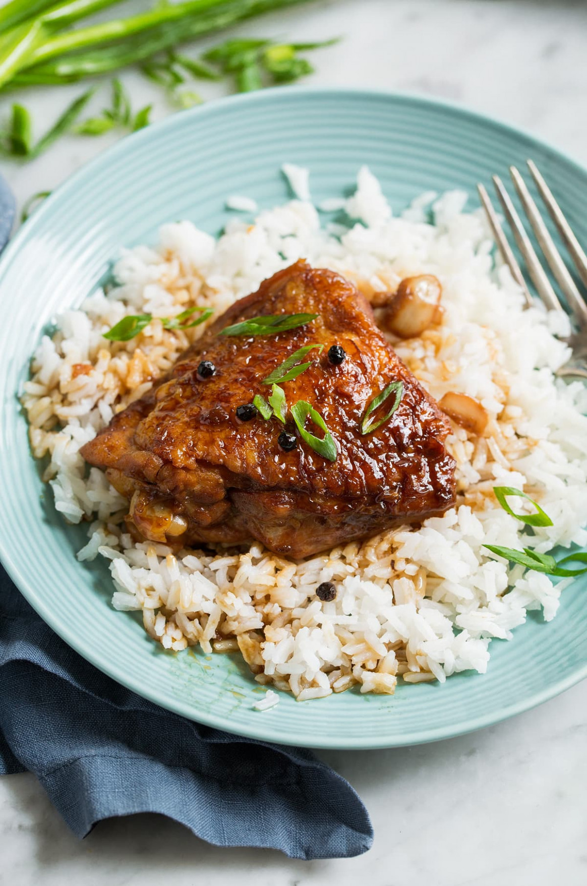 Chicken Adobo - chicken recipes with rice