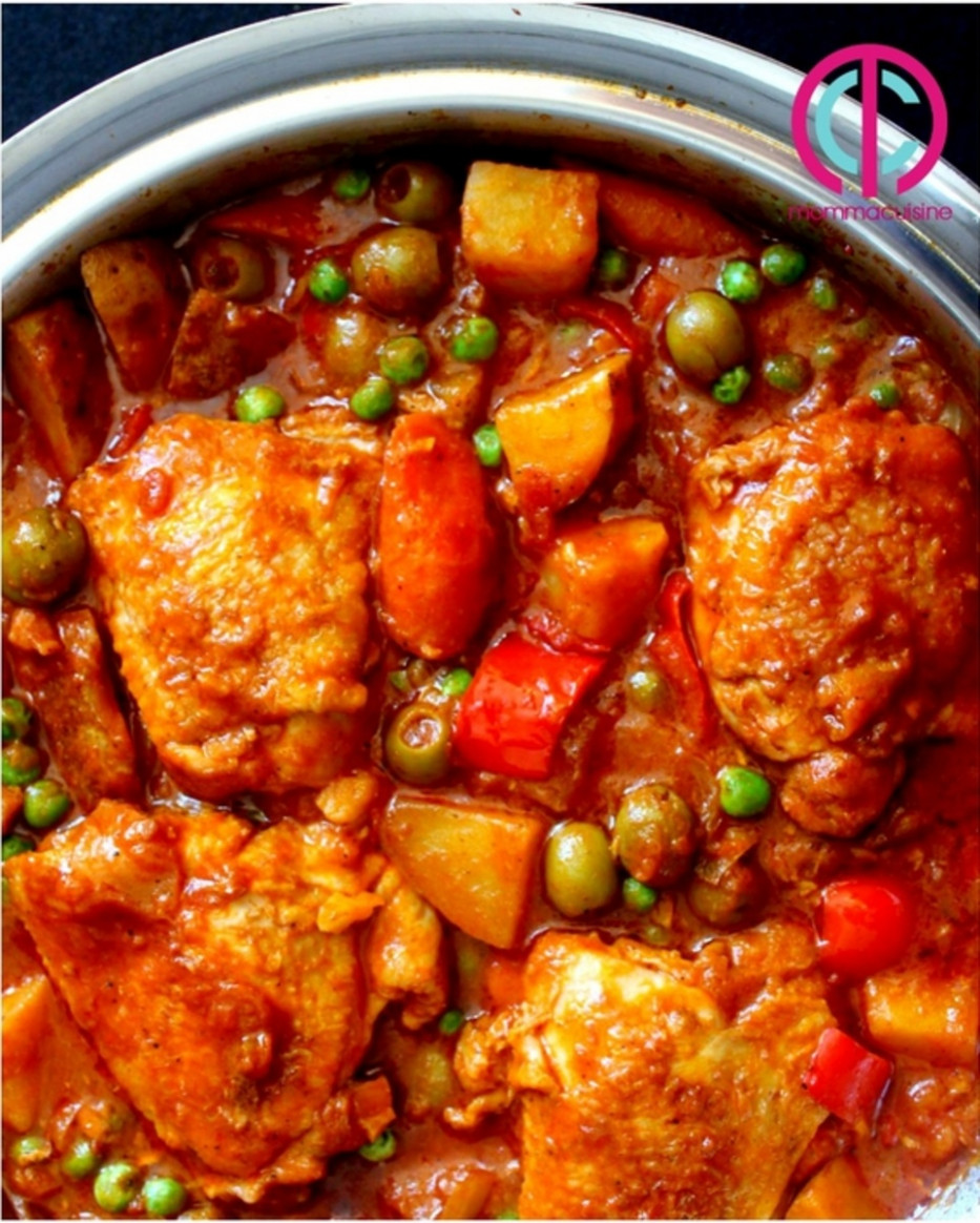 Chicken Afritada (Spanish-style Chicken Stew) - Recipes - recipes