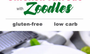 Chicken Alfredo with Zoodles - My Zucchini Recipes