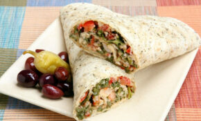 Chicken & Tabouli Wrap | Lose It | Meals Under 400 ..
