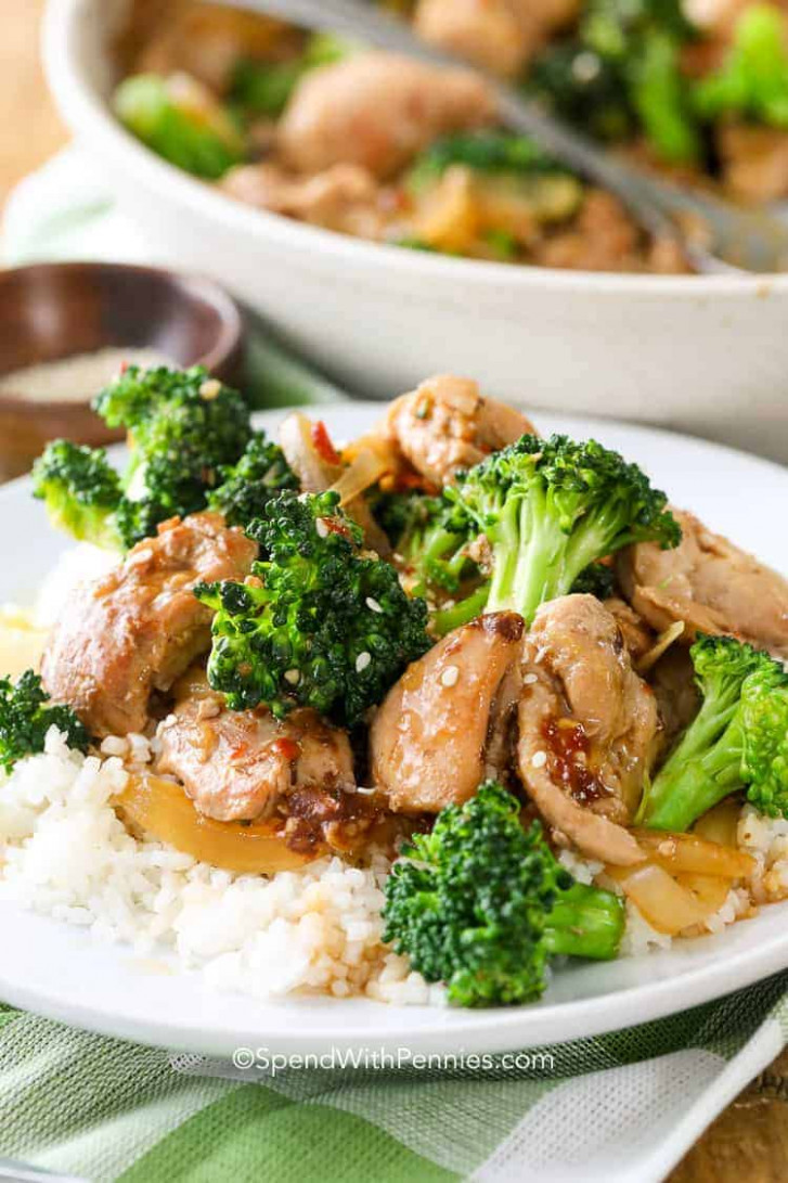 Chicken and Broccoli Stir-Fry - lunch recipes chicken