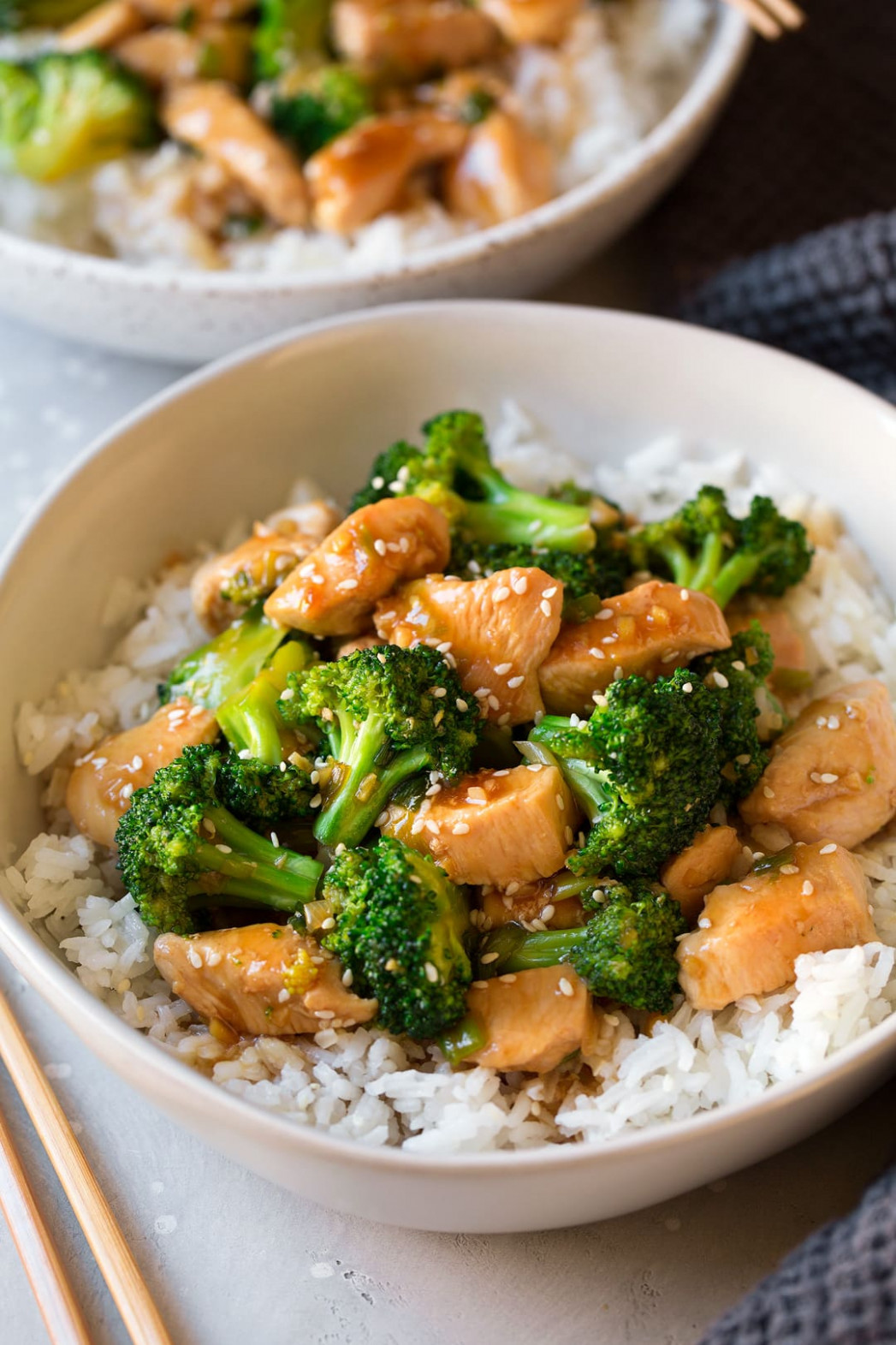 Chicken and Broccoli Stir Fry - stir fry recipes chicken