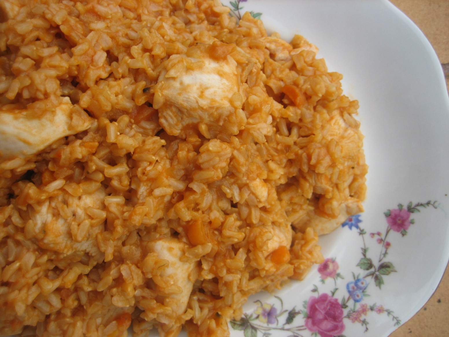 Chicken And Brown Rice Recipe — Dishmaps - brown rice recipes chicken