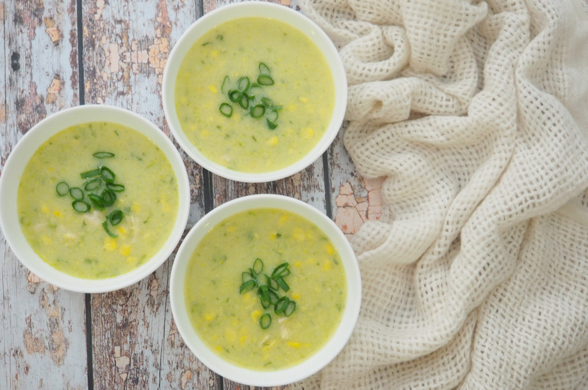 Chicken and Corn Soup - chicken recipes thermomix