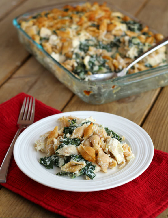 Chicken and Kale Casserole - healthy chicken and kale recipes