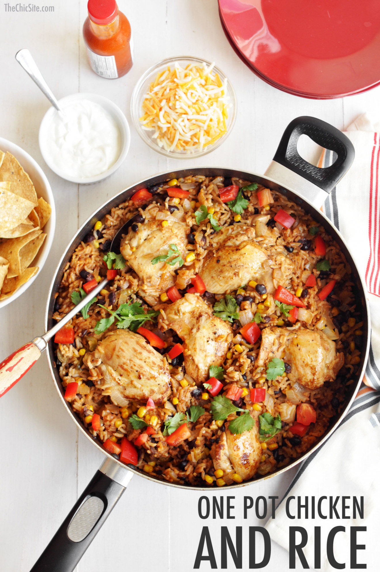 Chicken and Mexican Rice - recipes with chicken and rice