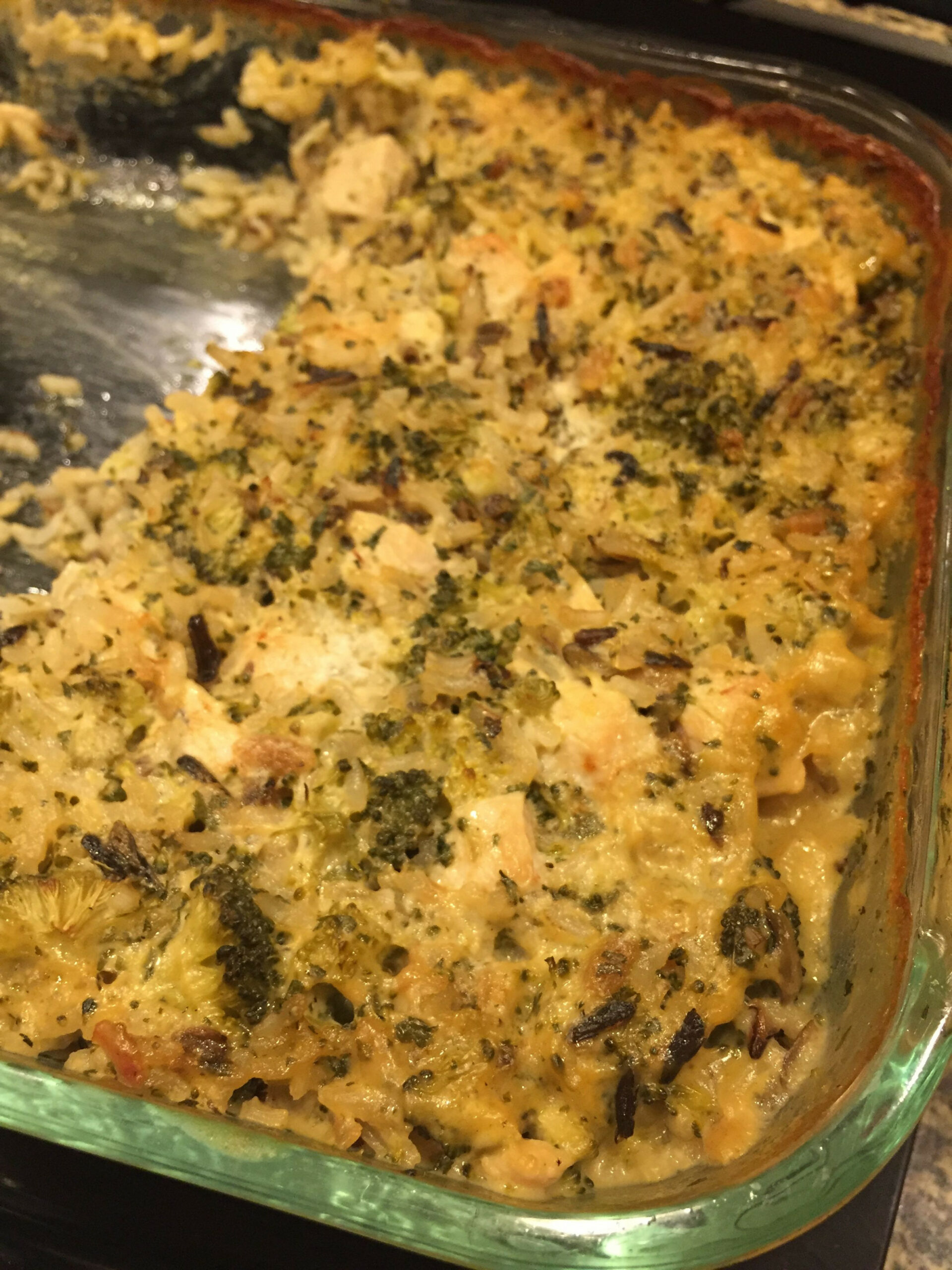 Chicken and Rice Casserole 11x Uncle Bens Quick Cook wild ...