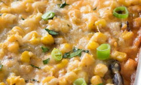 Chicken And Rice Enchilada Casserole – Recipes With Leftover Chicken