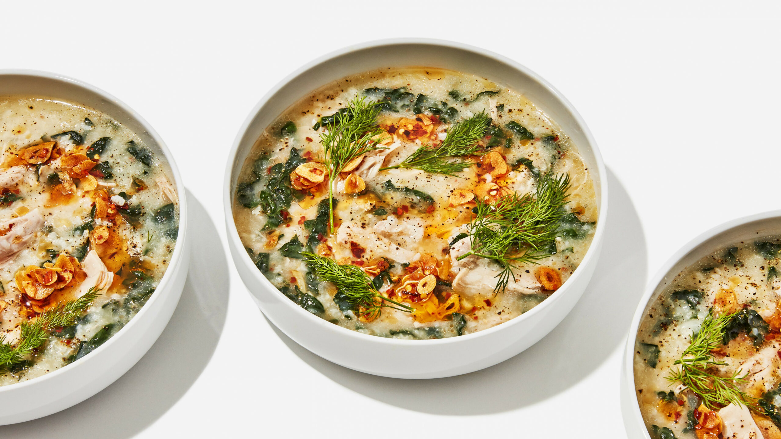 Chicken and Rice Soup with Garlicky Chile Oil - recipes soup with chicken