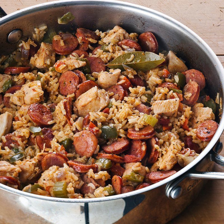 Chicken and Sausage Jambalaya | Recipe | Easy Week Night ..