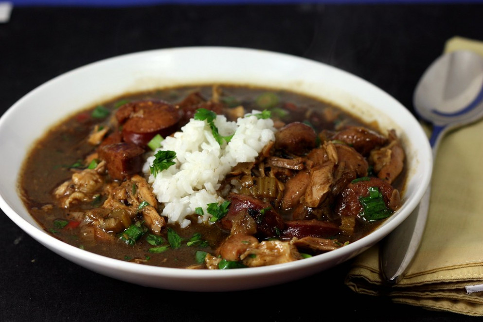 chicken and smoked sausage gumbo (2) - recipes gumbo chicken sausage