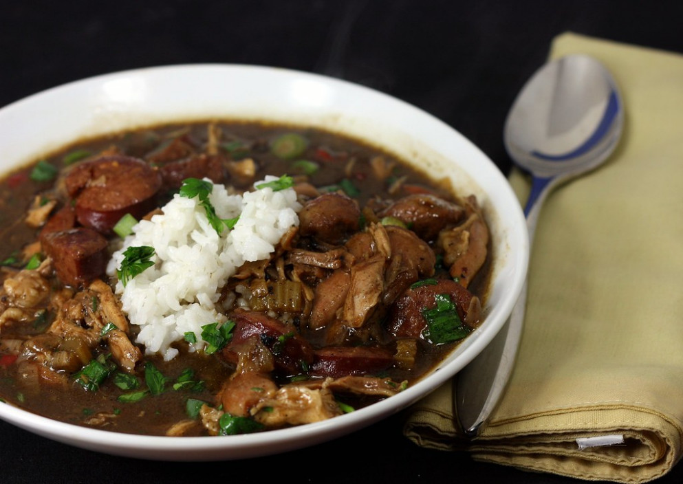 chicken and smoked sausage gumbo - recipes gumbo chicken sausage