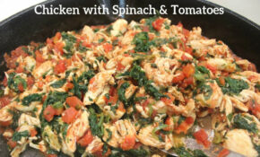 Chicken And Spinach Recipe: Shredded Chicken Recipes – Spinach Recipes Dinner
