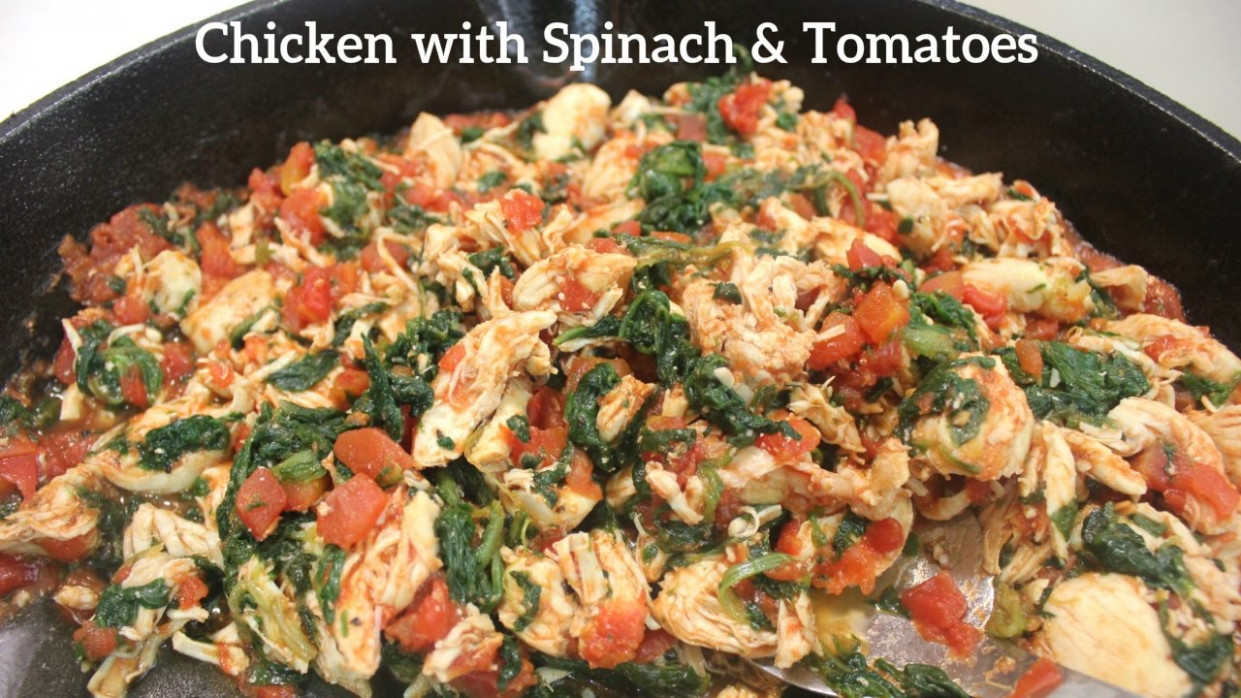 Chicken and Spinach Recipe: Shredded Chicken Recipes - spinach recipes dinner