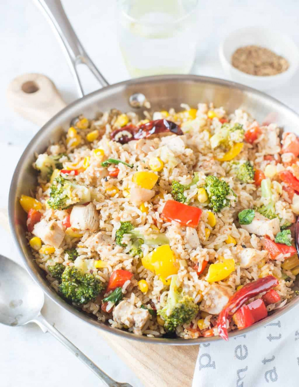 Chicken and Vegetable Brown Rice - recipes brown rice healthy