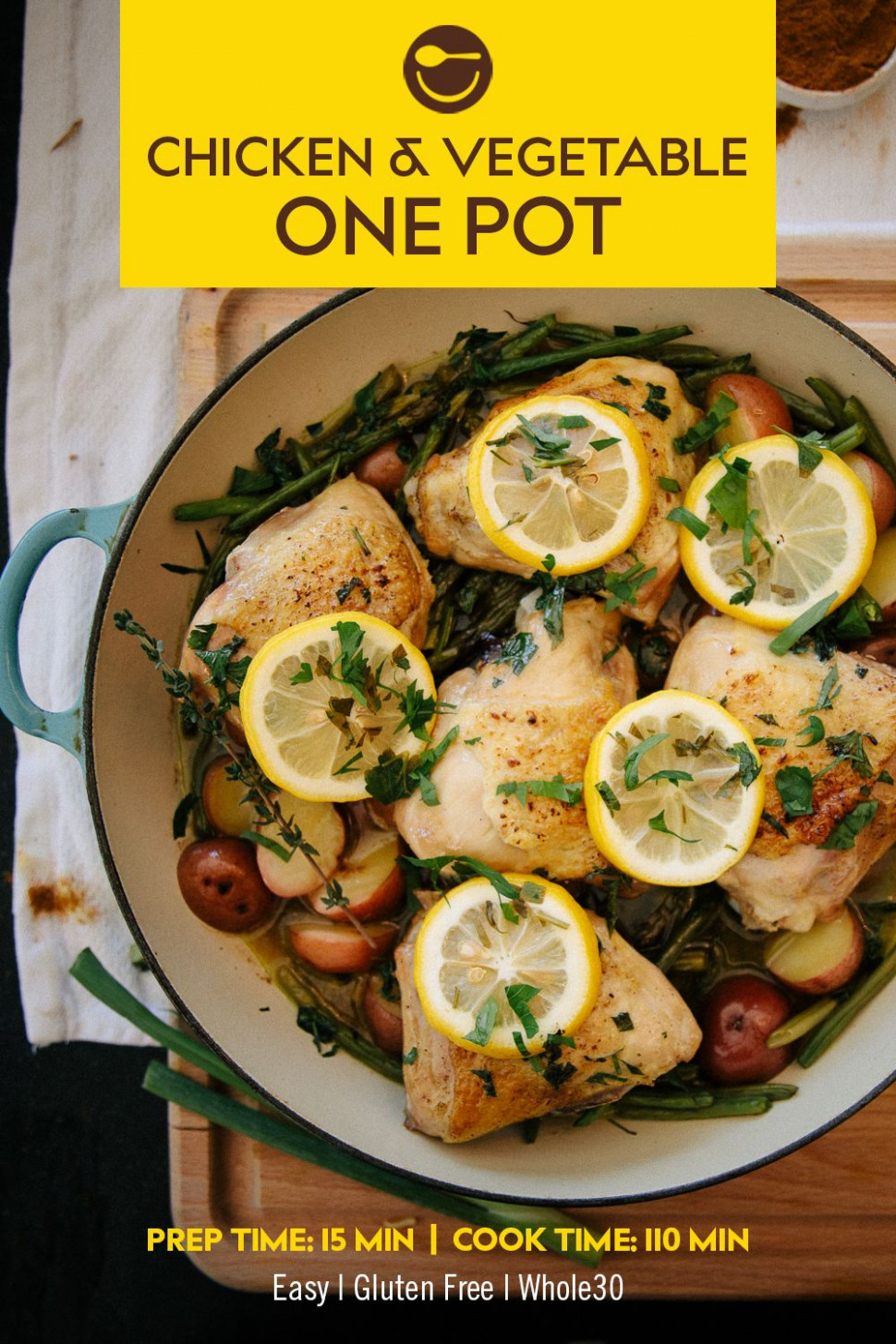 Chicken And Vegetable One Pot - Chicken And Vegetable Recipes