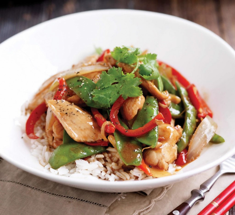 Chicken and vegetable stir-fry | Healthy Food Guide - healthy stir fry recipes chicken