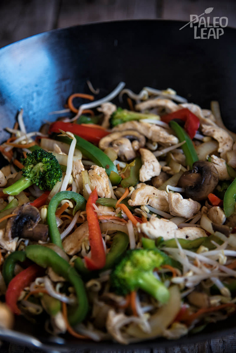 Chicken And Vegetable Stir-Fry Recipe - healthy stir fry recipes chicken