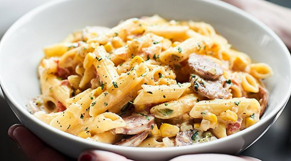 chicken apple sausage pasta - recipes aidells chicken apple sausage