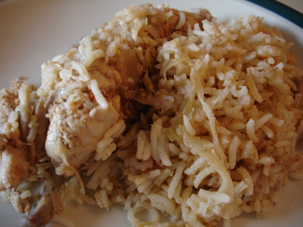 Chicken Biryani by Hafees - chicken recipes rice