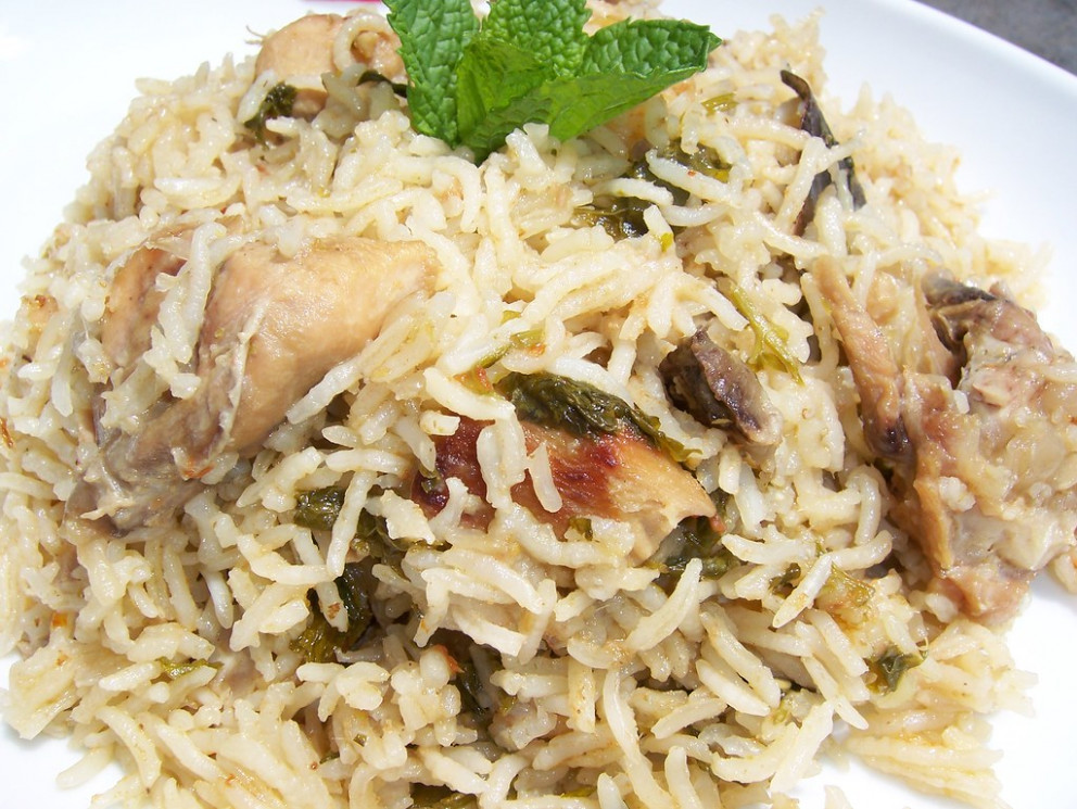 Chicken biryani - pasta recipes chicken