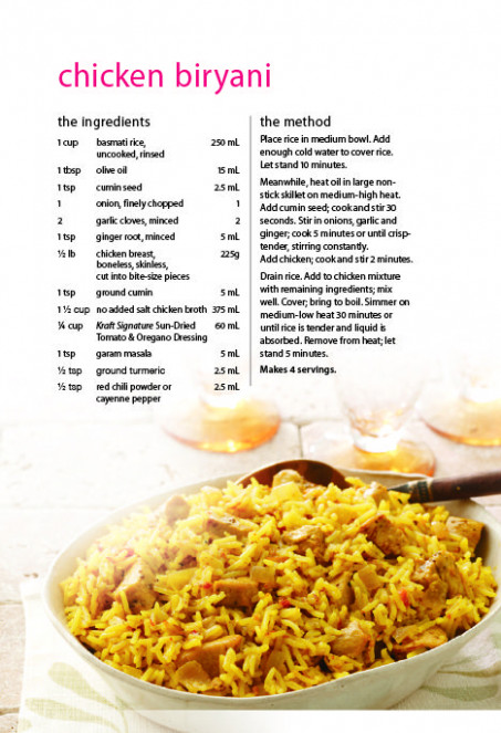 Chicken Biryani Recipe | Save-On-Foods | Food | Pinterest - chicken recipes list