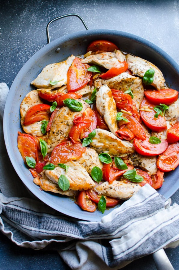 Chicken Breast with Tomatoes and Garlic - iFOODreal ..