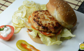 Chicken Burger – By VahChef @ VahRehVah.com – TotesWild ..