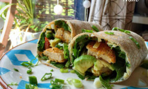 Chicken Burger Wrap – Pinch Of Nom – Quorn Recipes Chicken