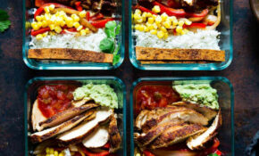 Chicken Burrito Bowl For Meal Prep – Meal Prep Recipes Chicken Breast